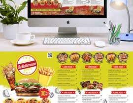 #50 untuk Create new restaurant menu ( for screen display & print) oleh MdFaisalS