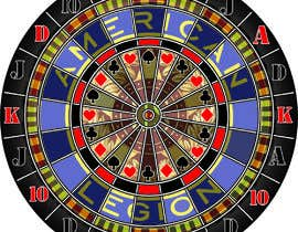#20 for Create vector image of a custom dart board. by petrosdaras1969