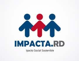 """#21 para Logo design for """"IMPACTA.RD"""" de pattyanny20"""