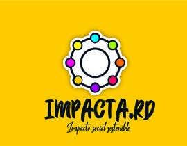 """#24 para Logo design for """"IMPACTA.RD"""" de nataliajaime"""