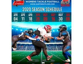 #15 for Womens Tackle Football Season Schedule by fidelttwe