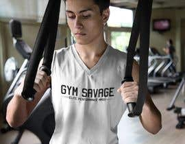 #39 para Gym Savage T- Shirt Mock up de tigersn