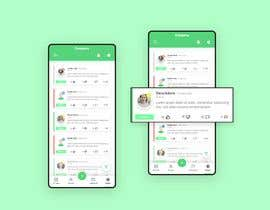#27 for Need the best Mobile UI design for a ready wireframe by badich