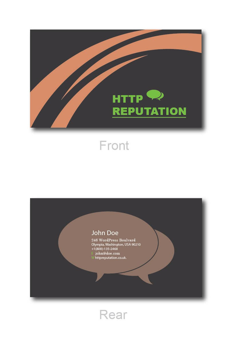 #41 for Business Card and letter head Design for httpreputation by ravimorey