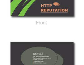 #42 untuk Business Card and letter head Design for httpreputation oleh ravimorey
