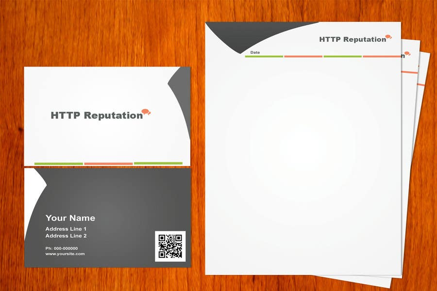 #11 for Business Card and letter head Design for httpreputation by amitpadal