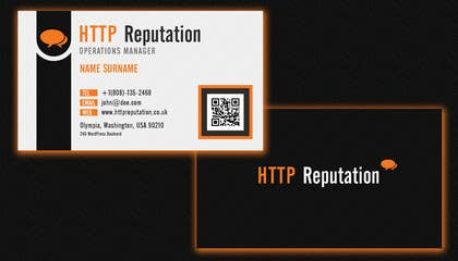 Graphic Design Contest Entry #24 for Business Card and letter head Design for httpreputation