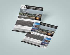 #13 untuk real estate & investment services promotional  flyer oleh RABIN52