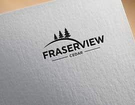 #98 for Fraserview cedar Logo by techstudio057