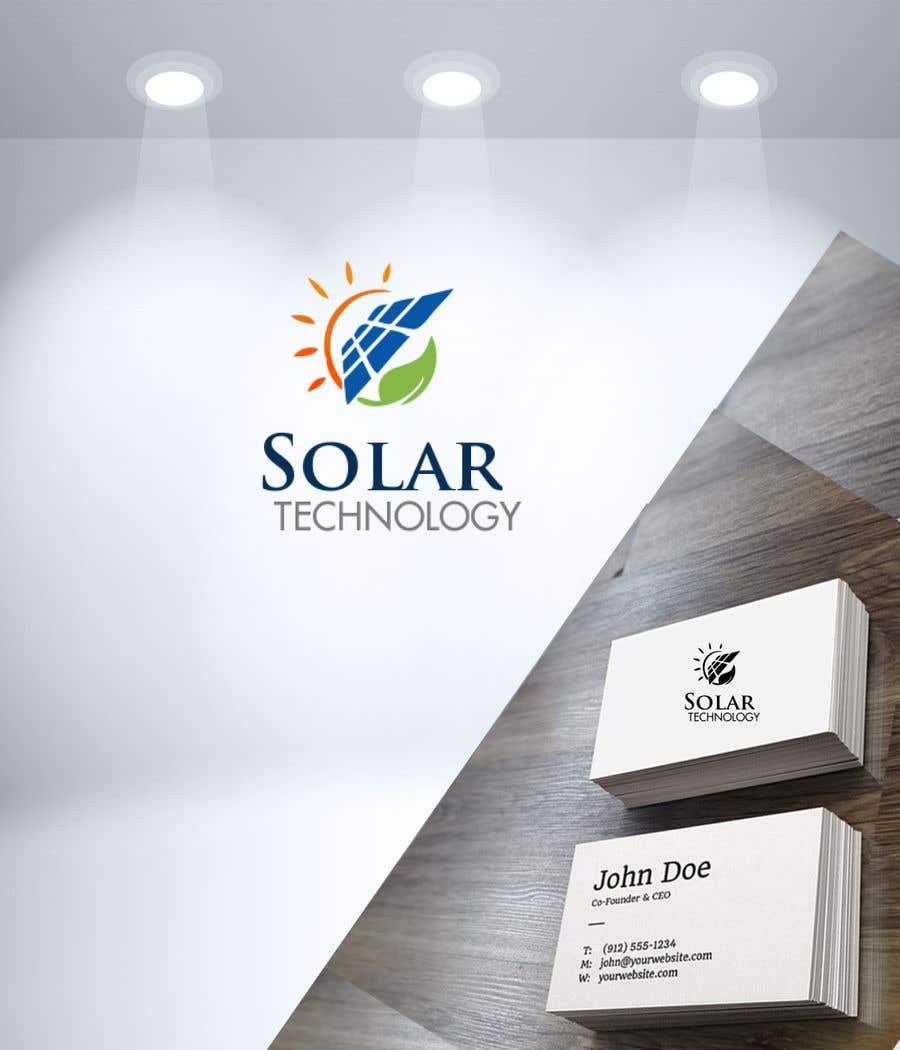 Contest Entry #21 for Design Logo for Solar technology