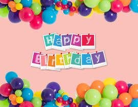 Nro 8 kilpailuun design birthday party decorations käyttäjältä AngiePavlov