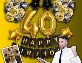 Nro 5 kilpailuun design birthday party decorations käyttäjältä artussas