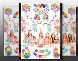 Nro 4 kilpailuun design birthday party decorations käyttäjältä Mukterhossain99