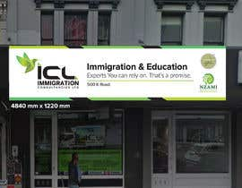 Nro 32 kilpailuun Design a Signboard for our Immigration Business käyttäjältä iqbalsujan500
