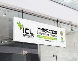 Nro 44 kilpailuun Design a Signboard for our Immigration Business käyttäjältä iqbalsujan500