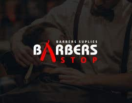"amhuq tarafından Design a Logo for ""Barbers Stop"" - Barber Supplies, suplier için no 93"