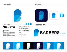 "jonyparvez99 tarafından Design a Logo for ""Barbers Stop"" - Barber Supplies, suplier için no 35"
