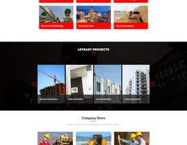 #75 for New website needed for building/construction company by Nibraz098