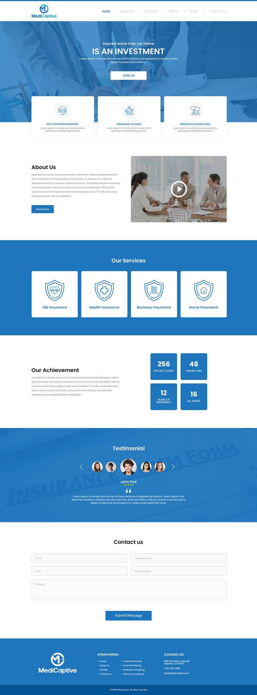Конкурсная заявка №                                        58                                      для                                         Website Design