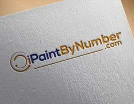 Nro 3 kilpailuun iPaintByNumber.com Logo käyttäjältä mstnazninakhtar