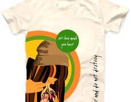 #5 untuk Rebellious and brave Tshirt designs for vinyl printing. oleh Anajal