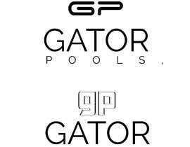 #39 для I need a logo and business card designed for my pool service company called gator pools, ideally I'd like the font with a cool cartoon gator with a t shirt on and a pool net or something better if anyone has a better idea. от aminjak