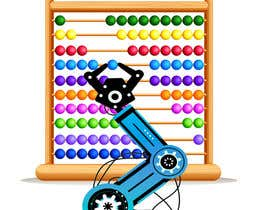 #16 for Design a Cartoon: Robotic Hand and Abacus by marianayepez