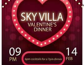 #34 for Invitation flyer for a dinner af huzaifazubair77