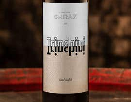 DaveWL tarafından Wine Label  Trinchini için no 250
