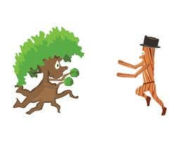 #181 para Make a picture of a tree hugging copper por SM19Creation