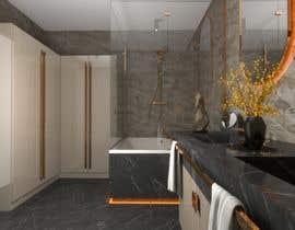 Nro 20 kilpailuun I have a Master Bathroom need to set a nice plan käyttäjältä galacticafb