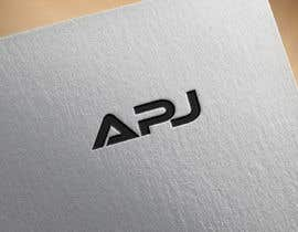 """#72 for brand new logo of my old logo """"APJ"""" by pervez46"""