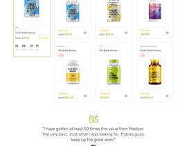 #156 untuk Pharmacy  Retail eCommerce Site Design oleh mdabdullah913
