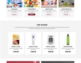 #150 untuk Pharmacy  Retail eCommerce Site Design oleh WebCraft111