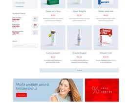 #143 untuk Pharmacy  Retail eCommerce Site Design oleh mudimudimudi
