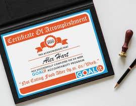#16 cho AWARD Certificate of accomplishment bởi svenyaffe