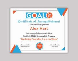 #10 cho AWARD Certificate of accomplishment bởi Heartbd5
