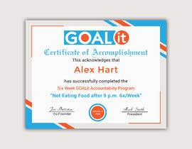 #11 cho AWARD Certificate of accomplishment bởi Heartbd5