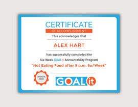#22 cho AWARD Certificate of accomplishment bởi Heartbd5