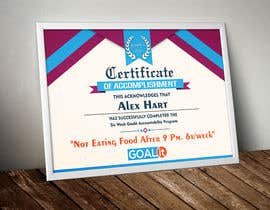 #20 cho AWARD Certificate of accomplishment bởi RajatWarade