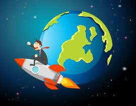 #6 cho Hello! I'm looking for a cartoon for my YouTube channel and website. I'm looking for my head to be put on a airplane maybe flying around the planet going right not left ? Please make sure I am able to use for this for commercial use. That be great! bởi rsraselri