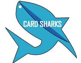 #114 untuk Logo Design for our new sports card shop!  CARD SHARKS! oleh labludey