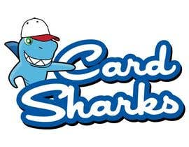 #110 untuk Logo Design for our new sports card shop!  CARD SHARKS! oleh calvograficos