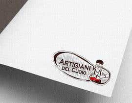 #139 for Design a cartoon logo and a special font for a handmade leather shoes brand by Rahulbajad
