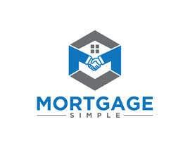 Nro 244 kilpailuun Mortgage Simple Logo käyttäjältä gdbeuty