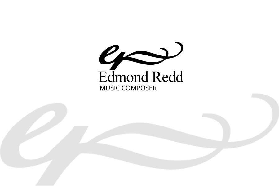 #46 for Logo Design for Edmond Redd- Music Composer by zetabyte