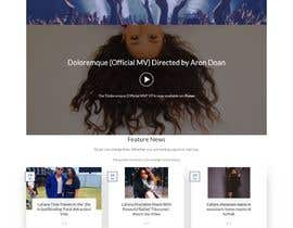 nº 59 pour Build a website for a singer par Baasim125