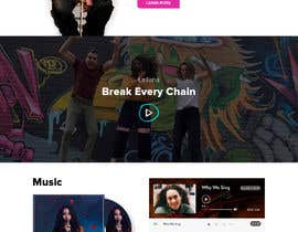 nº 33 pour Build a website for a singer par SimranChandok