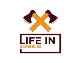 """#139 for Logo design - """"Life in Scribbles"""" af mdrakibulislam98"""