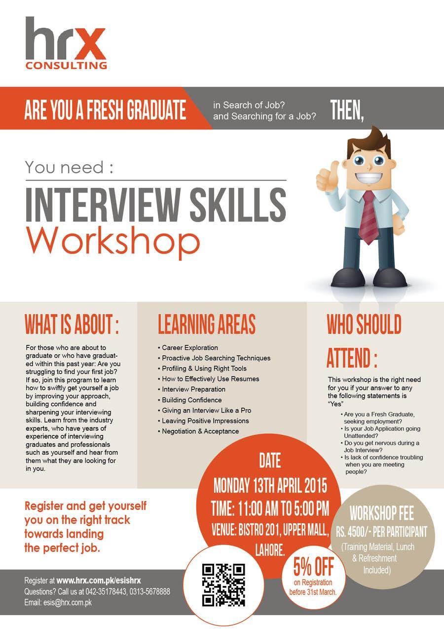 entry 8 by zindanartwork for design a flyer for training workshop